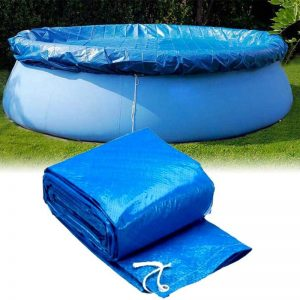 183/244/305/366cm Round Swimming Pool Cover Protector PE insulation film dustproof cover Film Above Ground Protection