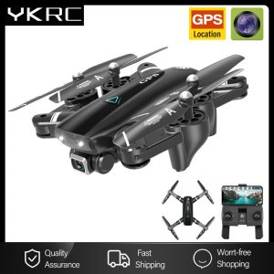 GPS Drone With 4K Profesional RC Quadcopter Racing GPS Dron With 5G WIFI Wide Angle HD FPV Camera Video Helicopter Toys
