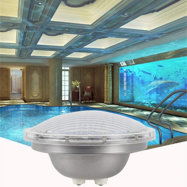 Swimming Pool Light Outdoors IP68 Lamp Par56 12V 25W Colourful Pool Spotlights Waterfall Fountain Led Color Waterproof Spa Party