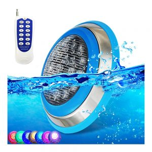led pool Underwater lamp Swimming ip68 waterproof Pond fountain cottages submersible wireless Decorative wall rgb focuser light