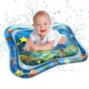 Inflatable Baby Water Mat Fun Activity Play Center for Children Infants Jacuzzi Inflable Spa Banheira Dobravel Portable Bathtub