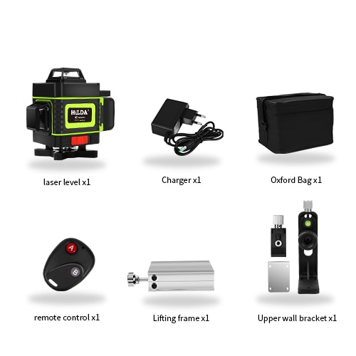 16 Lines 4d Laser Level Green Line Self Leveling 360 Horizontal And Vertical Super Powerful Laser Level Green Beam Laser Level Mthingz
