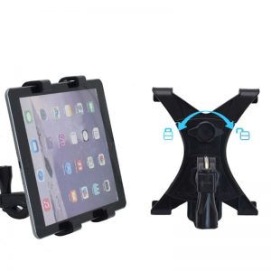 Universal 360 Bicycle Holder Mount Exercise Bike Bracket For 7-12inch Tablet PC