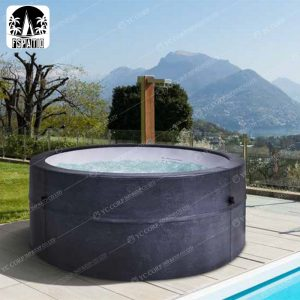 Inflatable SPA Jacuzzi Heated Economy Simple Pool Cover Cloth Hot Tub