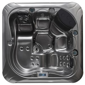 Hot Tub spa 5 person outdoor jacuzzi with led heater and ozone M-3398