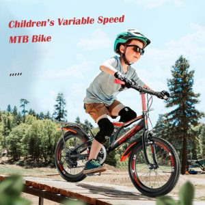 Children's Mountain Bike MTB Bikes for Kids Student Bikes 18/20/22 inch Variable Speed Bicycles Gift for Boys Girls Men&Women
