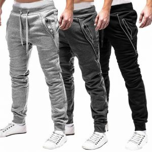 Autumn Men Pants Hip Hop Harem Joggers Pants 2020 New Male Trousers Mens Solid Multi-pocket Cargo Pants Skinny Fit Sweatpants