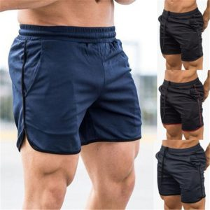 2019 Summer Running Shorts Men Sports Jogging Fitness Shorts Quick Dry Gym Men Shorts Bottoms Male Sport Gyms Short Pants Man