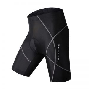 WOSAWE Gel Padded Cycling Shorts Spandex Racing MTB Mountain Bike Shorts Summer Ciclismo Reflective Bicycle Short Pants Bermuda