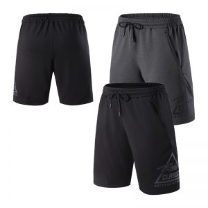 Men Loose Shorts Sport Breathable Quick Drying Print Short Fitness Running Training Shorts joggers Soccer