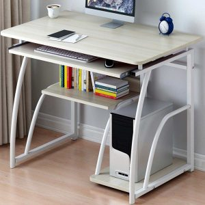 71X70cm Modern Computer Desk with Keyboard bracket PC Workstation Study Writing Table Home Office Furniture Table Office