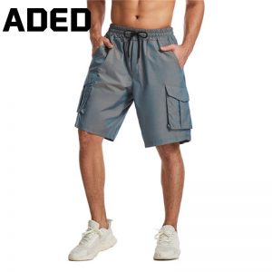 ADED New 2020 Men Summer Sports Shorts Pocket Running Shorts Male Outdoor Fitness Training Jogging Shorts Overalls Sweatpants