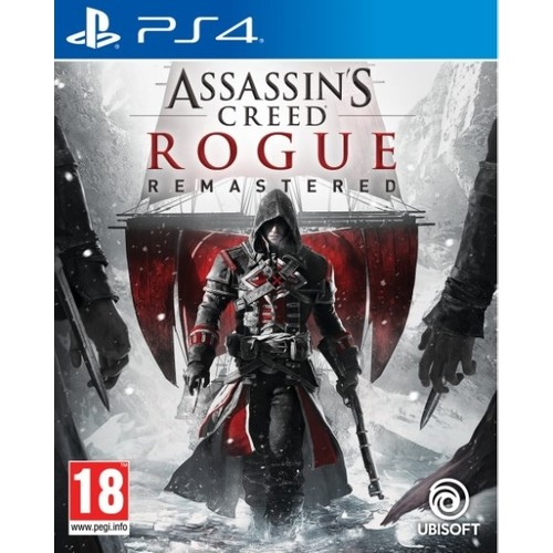 Assassins Creed Rogue Remastered PS4 Game Original Playstation 4 Game 2021 New Stock Video Game
