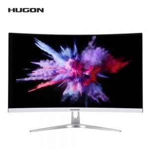 HUGON 27 inch 1920×1080P Curved screen 75Hz Gaming Monitor PC LCD/TFT Computer Display VGA interface