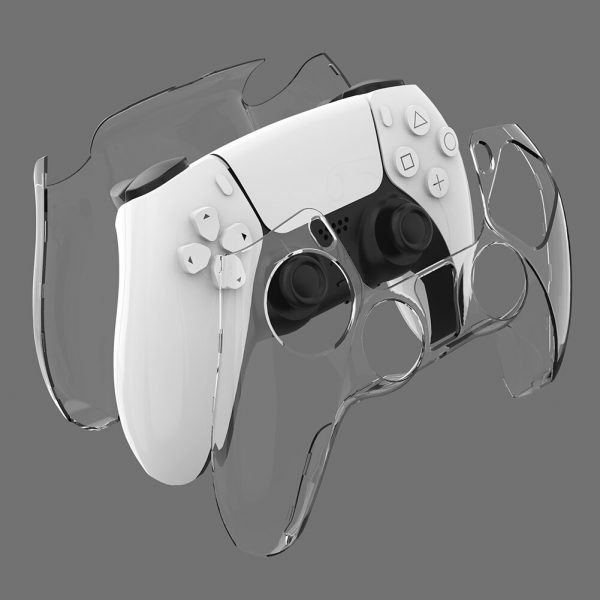 Transparent Controller Protective Cover for Sony PS5 Gamepad Skin Shell Non-slip Controller Cover For Playstation5 Accessories